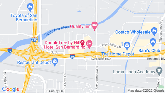 La Quinta Inn & Suites by Wyndham San Bernardino Map
