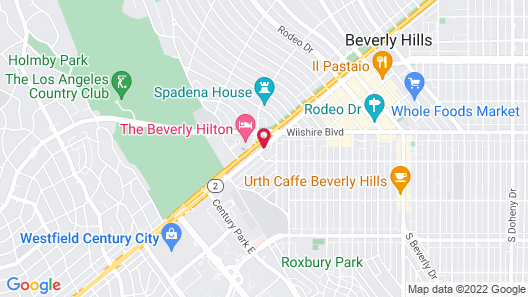 The Peninsula Beverly Hills Map