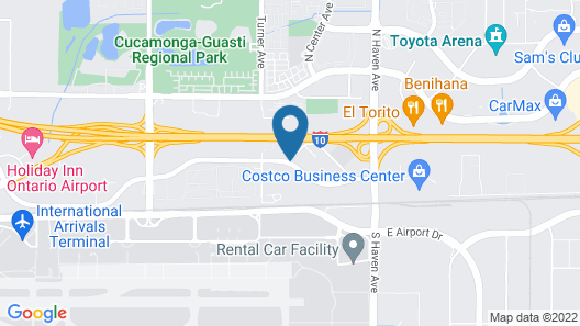 SureStay Hotel by Best Western Ontario Airport Map