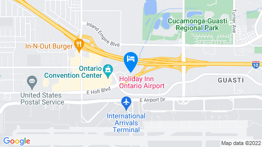 Holiday Inn Ontario Airport, an IHG Hotel Map