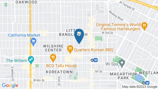 Koreatown Wilshire Apartment 5.22 Map