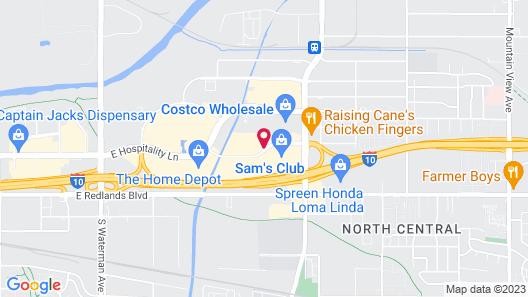 Residence Inn by Marriott San Bernardino Map