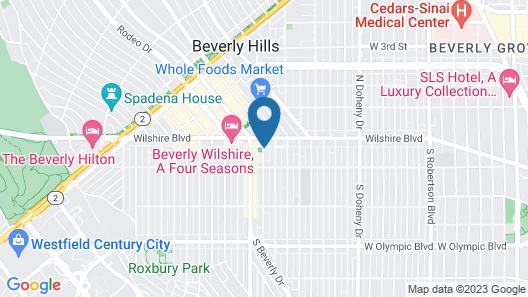 SIRTAJ - Beverly Hills Map