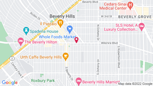SIXTY Beverly Hills Map