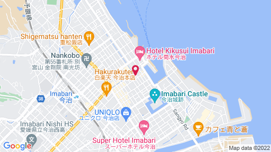 Hotel Portside Imabari Map