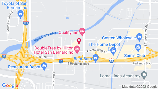 Days Inn by Wyndham San Bernardino/Redlands Map