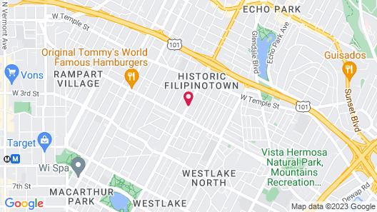 Hollywood Inn Express South Map