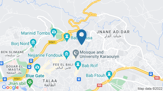 Bab Al Madina Map
