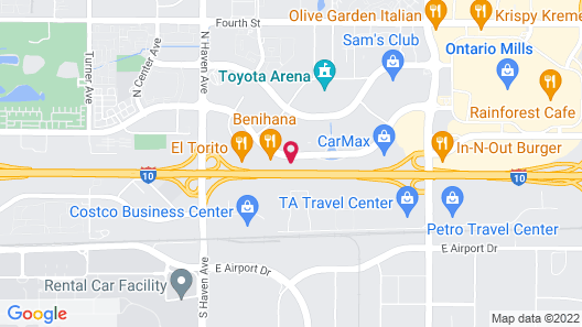 Extended Stay America Suites Los Angeles Ontario Airport Map