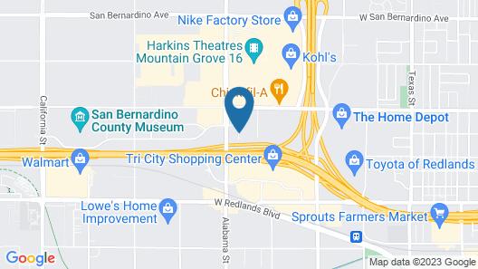 Super 8 by Wyndham Redlands/San Bernardino Map