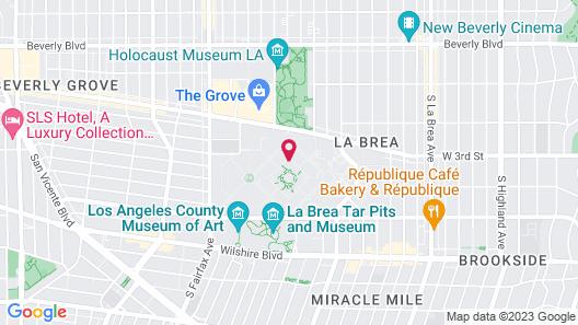 Park La Brea Apts. #1H 2 Bedrooms 2 Bathrooms Home Map