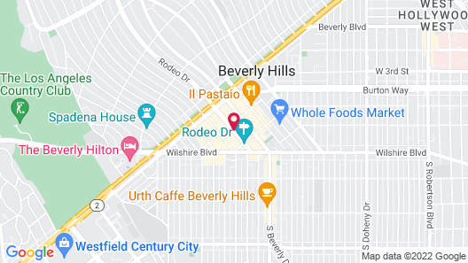 Luxe Rodeo Drive Hotel Map