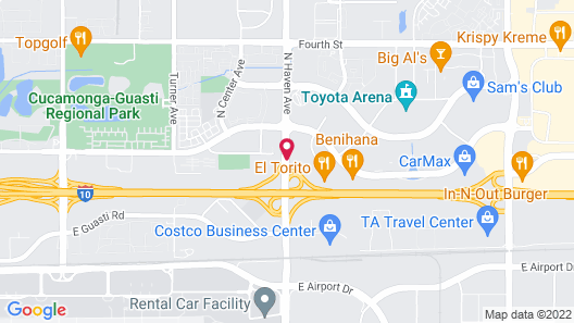 Ontario Airport Hotel & Conference Center Map