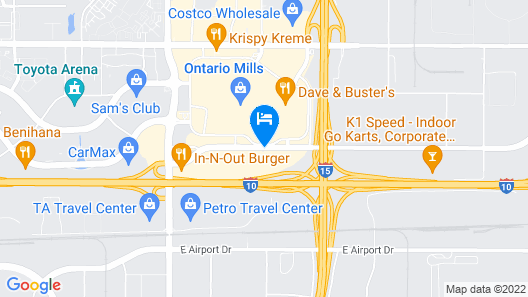 Country Inn & Suites by Radisson, Ontario at Ontario Mills, CA Map