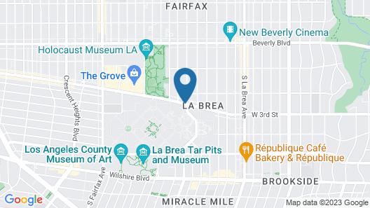 Park Plaza Lodge Hotel Map