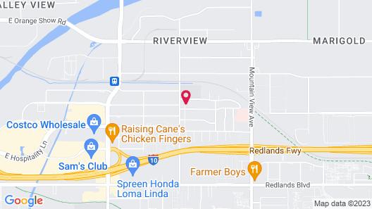 Cozy RV in Loma Linda Map