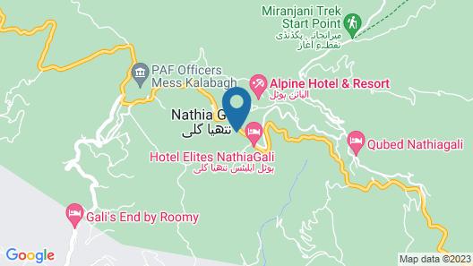 Shimla resort and rest house Map