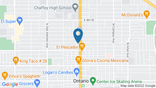 American Inn Ontario Map