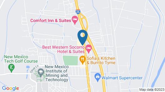 Super 8 by Wyndham Socorro Map