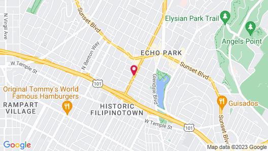 The Lexmar Dodger Stadium Hollywood Map