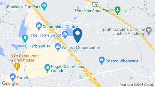 Hampton Inn Columbia I-26/Harbison Blvd. Map