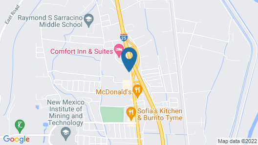 Comfort Inn And Suites Map