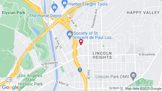 Pads on Pasadena Ave Map