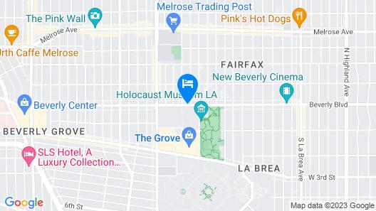 Beverly Inn Map