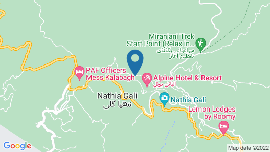 Green Retreat Hotel Map