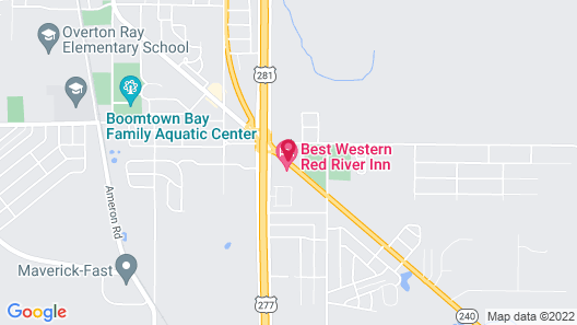 Best Western Red River Inn Map