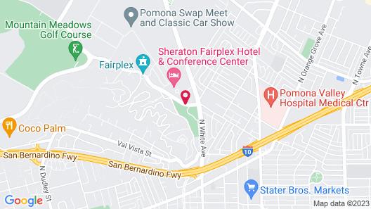 Sheraton Fairplex Hotel & Conference Center Map