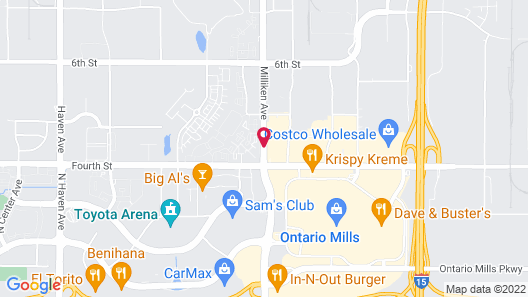 TownePlace Suites by Marriott Ontario Airport Map