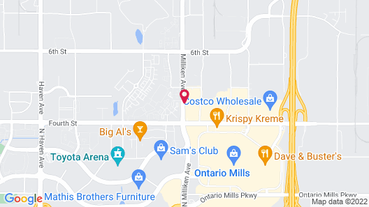 Holiday Inn Express & Suites Rancho Cucamonga, an IHG Hotel Map