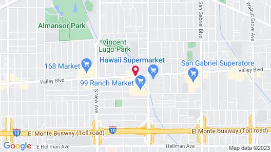 Hilton Los Angeles/San Gabriel Map