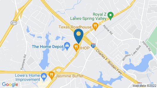 Fairfield Inn and Suites by Marriott Columbia Map