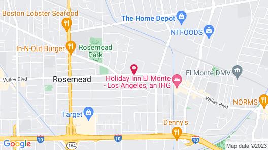Quality Inn Rosemead-Los Angeles Map