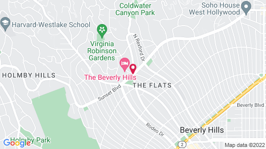 The Beverly Hills Hotel - Dorchester Collection Map