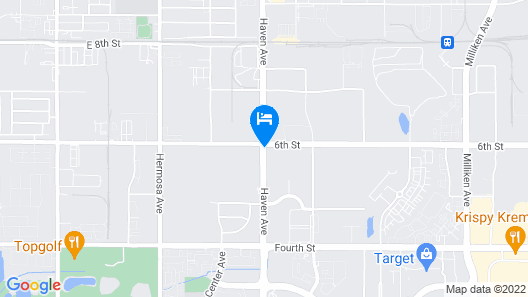 Residence Inn by Marriott Ontario Rancho Cucamonga Map