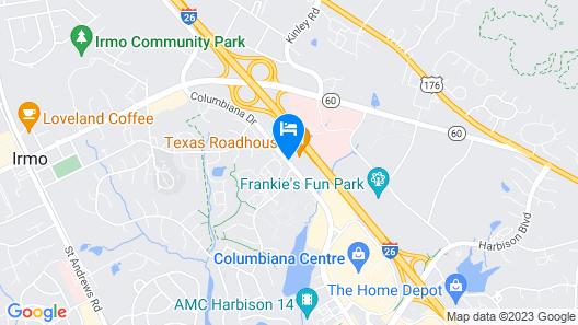 Hilton Garden Inn Columbia/Harbison Map