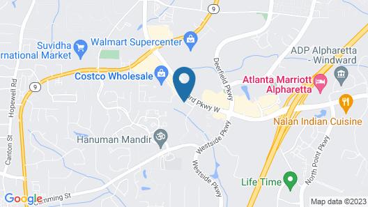 DoubleTree by Hilton Atlanta - Alpharetta Map