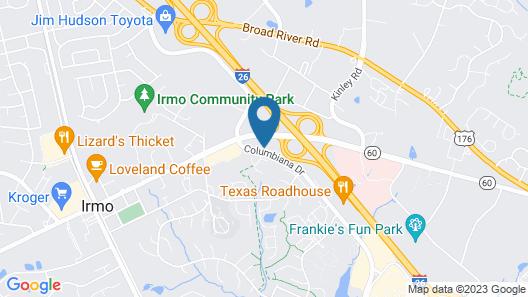 Home2 Suites by Hilton Columbia Harbison Map