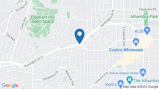 Super 8 by Wyndham Los Angeles/Alhambra Map