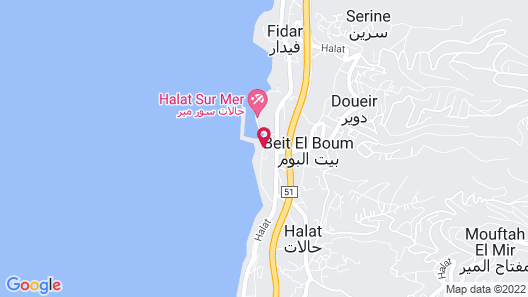Whitelace Hotel Resort & Spa Map