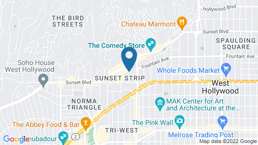 Sunset Marquis Map