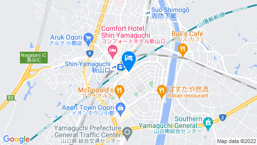 Hotel Active Yamaguchi Map