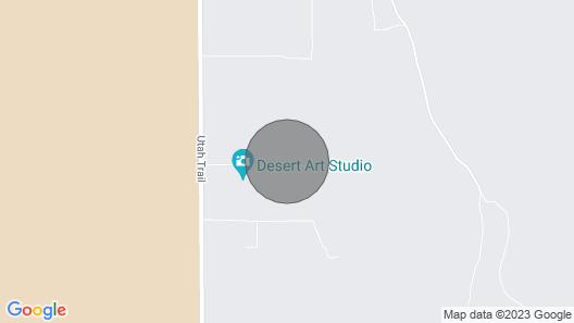 Secluded Desert Retreat Staycation Fast Wifi Map