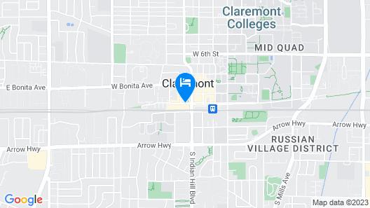 Hotel Casa 425 + Lounge Map