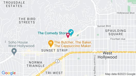 Grafton On Sunset Map