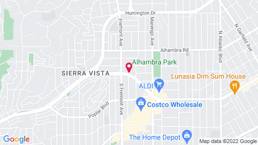 GreenTree Inn & Suites Alhambra/Los Angeles Map