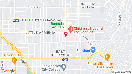 Travelodge by Wyndham Hollywood-Vermont/Sunset Map